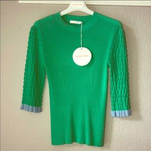 Tops - NWT See By Chloe Sweater with ribbed sleeves